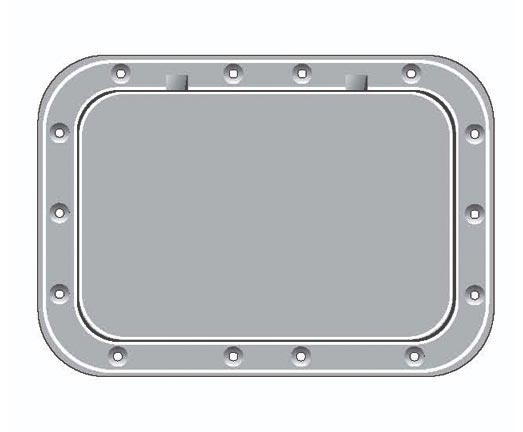 Pry-out Deck Plates (rectangular)